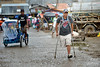 Man with disability in Philippines (vp100194) Tags: philippines filipina filipino asia pacific islands personwithdisability disabled man street crutches cbm pwd pwds dpo adpi pccid estancia iloilo