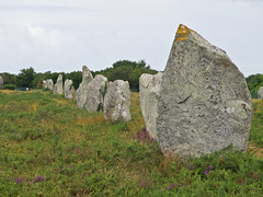 Les Menhirs de Carnac # 4 (schreibtnix on 'n off) Tags: reisen travelling europa europe frankreich france bretagne brittany breizh carnac menhire menhirs alignementduménec olympuse5 schreibtnix
