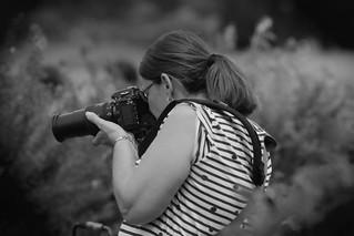 The Photographer, Morton Arboretum. 5(EOS)