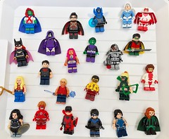 Titans/Teen Titans/Young Justice (Freakzz) Tags: lego teen titans young justice dc dccomics