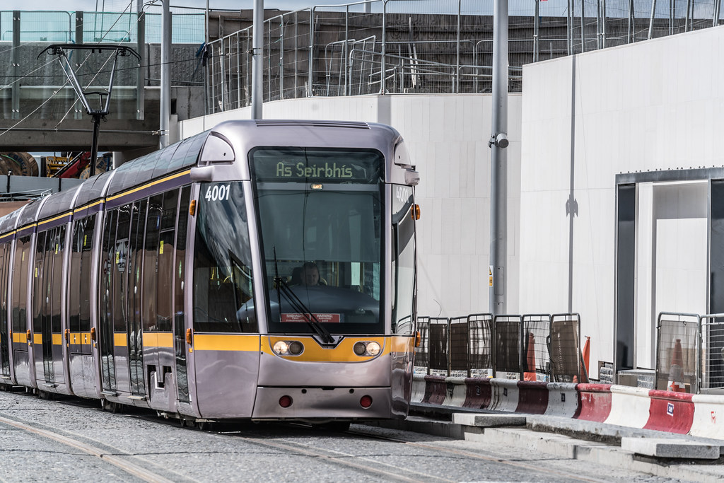 THE NEW LUAS TRAM STOP AT BROADSTONE [TESTING PHASE UNTIL EARLY DECEMBER]-1324701
