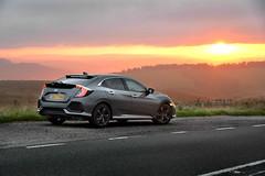 Civic sunrise (PentlandPirate of the North) Tags: honda civic 2017 10thgeneration turbo buxton dawn sunrise car forseti prestige
