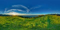 Gurnigelberg Sunset (Bugtris) Tags: gurnigel 815f4l sunset fisheye hdrdri sky 360gradpano canon 5dmkiii wolken landschaft bern schweiz