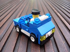 Maluch - Police Car (Śląski Hutas) Tags: lego moc bricks poland polska futuristic scifi policja