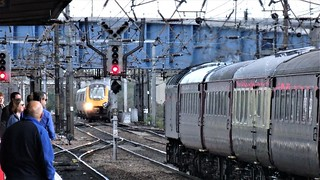 Conflicting Movements, East Coast Main Line Doncaster.