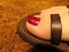 Pure Ice | Hit The Floor & Nina Pro | Red Fox (markrudolph203) Tags: ninaultrapro pure ice hit floor red fox nina ultra pro nail color polish enamel toe toes nails toenail toenails sandal sandals guy dude male man wearing