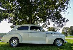 1941 Chevrolet Special Deluxe Street Rod (J Wells S) Tags: 1941chevrolet streetrod hotrod 1941chevroletspecialdeluxetwodoorsedan chevy carbazaarcarshow butlercountyfairgrounds hamilton ohio