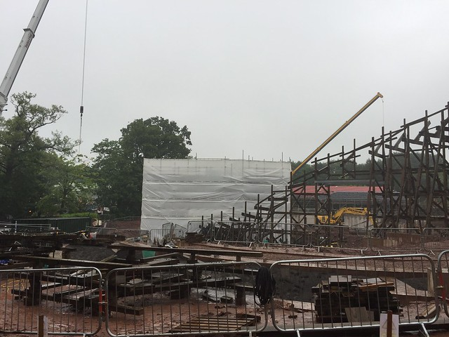 SW8 Construction Site - 26th July 2017