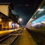 Grubo po północy na dworcu Praha-Vysočany thumbnail