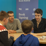Greg James & Chris Smith book signing