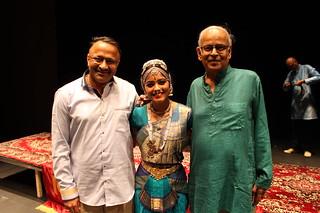 Jwala with Mr. Ravi and Subramaniam mama