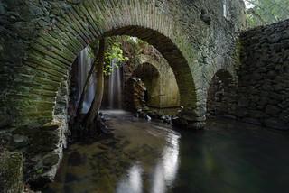Antigua fábrica de luz en el Río Cega. Lastras de Cuéllar. Segovia.