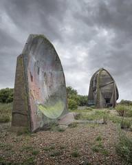 Redundant Technology (Forgotten Heritage) Tags: ue explore exploration sound mirrors concrete clouds kent south coast