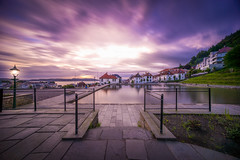 Skansedammen, Bergen, Norway (Paulius Bruzdeilynas) Tags: bergen norway norge norwegian city skansedammen skansen sunset evening longexposure summer water firestation sony sonyalpha sonya7ii