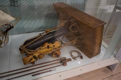 Model cannon used in sailing ship (quinet) Tags: 2017 antik cannon copenhagen kanone royaldanisharsenalmuseum ancien antique canon canone museum zealand denmark