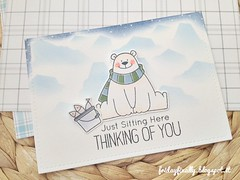 Just sitting here and thinking of you MFT card detail (fridayfinally) Tags: myfavoritethings polarbearspals copicmarkers copic copics dienamicsicebergs distressink campcreate bears ice winter winterscene winterseason fishes skating scarf critters cutebackground cute clearstamps crittersparty celebrate cleanandsimplecard cardmaking coloring card cutescene love lovely lawnfawnplaidpaper thinkingofyou hellocard hello lightblue loveyoucard whitegelpen blue white polonord orsetto