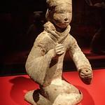 Female Musician Figurine from Xuzhou Jiangsu China Western Han period 206 BCE - 9 CE Earthenware thumbnail