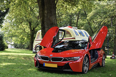BMW i8 Protonic Red Edition (Alexandre Prévot) Tags: european cars automotive automobile exotics exotic supercars supercar worldcars nancy lorraine france 54 54000 auto car berline sport voiture route transport déplacement parking luxe grandestsupercars ges meurtheetmoselle mondorf mondorflesbains concours concoursd'élégance luxembourg lëtzebuerg rallye course grandduchyofluxembourg groussherzogtum grosherzogtum luxemburg grandduchédeluxembourg luxembourgish