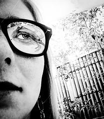 In disguise (doubleshotblog) Tags: reflectioninsunglasses frontcamera shotoniphone iphonephotography iphoneography iphone5 australia moorishblue northsydney sydney eye selfportrait glassesselfie sunglasses glasses reflection indisguise