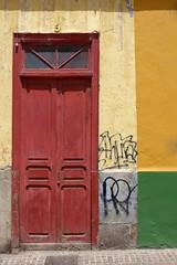 Doors Of Tenerife No. 5 (TablinumCarlson) Tags: tags hinzufügen alt old teneriffa tenerife kanarische inseln canary islands kanaren canaries island insel spain spanien espana afrika africa leica tür door entry eingang 5 dlux6 dlux grün rot gelb yellow green red santa cruz santacruz