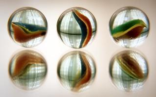 Balls, crystal balls.