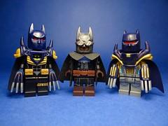 Lego DC Universe Minifigures #6 - Noir and Azure (Sir Doctor XIV) Tags: lego batman azrael knightfall gotham custom gaslight