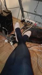 IMG-20170828-WA0002 (wuder1) Tags: crossdresser bondage nylon pantyhose strumpfhose heels devot tranny sissy tights collants tied up