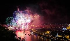 Fireworks @ Budapest - 20 August 2017 (mZoleee) Tags: fireworks budapest hungary 2017 lights citadel