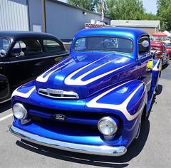 1950 ford pickup (bballchico) Tags: 1950 ford pickuptruck scallops chopped custom claytonstevens customcarrevival carshow