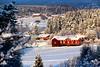 Les maisons rouges de Suede (malorybreton) Tags: redhouse snow winter sweden