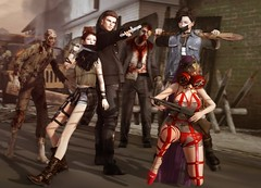 Ferosh Summer 2017: Outbreak (Jangsungyoung Resident) Tags: ferosh outbreak roleplay zombies undead apocalypse rp second life