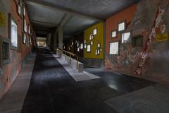 Hallway (Luca Chiappin) Tags: urban explore nikon lucachiappin urbex d7100 tokina windows colonia summer camp architecture eni mountain villaggio gellner