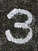 3 (SHIBATA KEN) Tags: japan 日本 tokyo 東京 number 番号 texture テクスチャー