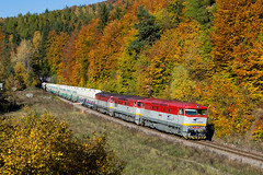 ZSSKC 751.192+751.047+751.035, Pn 55721 by Rudynko Čillo - 22.10.2016 Remata