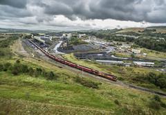 66004 Onllwyn (jbg06003) Tags: sevensisters wales unitedkingdom gb class66 ews onllwyn celticenergy coal