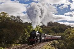 At home in the Highlands (EltonRoad) Tags: 62005 k1 steam train railway line jacobite westhighlandline beasdale bank fortwilliam mallaig westcoast westhighlands scotland