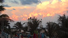 Clouds and Palms (_minette) Tags: clouds dusk palms beach puertomorelos quintana roo mexico