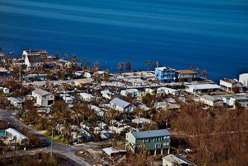 From flickr.com: Marathon Florida Destruction After Hurricane Irma {MID-175411}