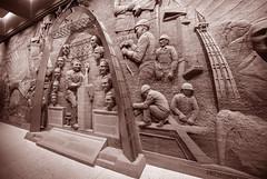 Indoor Sculpture in The Gateway Arch - St. Louis - Missouri - USA (R.Smrekar-CH) Tags: blackwhite sculpture indoor missouri 001000 d750 smrekar usa