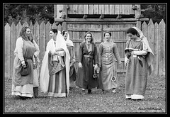 """Merovingian Fashion day in Marle """"Aisne"""" in France on 20 08 2017 (fredpot1963 Thanks for the 8.8 million views and m) Tags: merovingian fashion day marle aisne france 20 08 2017 costumes"""