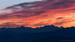 Fire in the sky (beppeverge) Tags: alba beppeverge dawn laghi lakes landscape mottarone orange red sunrise