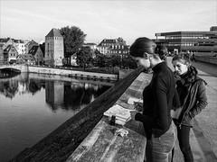 Projet 365 # 92-.jpg (danielgschmitt) Tags: france pontscouverts dessin projet365 gx8 photoderue plume europe nb strasbourg grandest fr