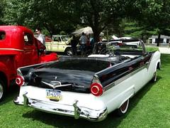 Overdrive (e r j k . a m e r j k a) Tags: ride 1956 ford fairlane convertible classic cars erjkj