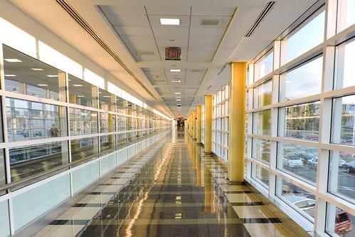 DCA Terminal A walkway