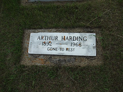 Gravestone - Arthur Harding