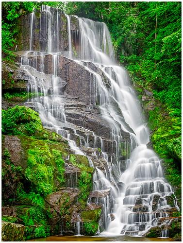 Eastatoe Falls by Steve Ornberg - Class A Digital -  Award- September 2017