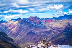 Incredible colours and strata in the Peruvian Andes.