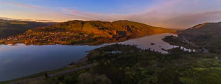 Rowena Crest Viewpoint Sunset