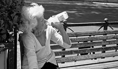 What else can you do!! (Baz 120) Tags: candid candidstreet candidportrait city candidface candidphotography contrast street streetphoto streetcandid streetphotography streetphotograph streetportrait rome roma romepeople romestreets romecandid europe heatwave monochrome monotone mono blackandwhite bw noiretblanc urban voigtlandercolorskopar21mmf40 voightlander leicam8 leica life primelens portrait people unposed italy italia girl grittystreetphotography faces decisivemoment strangers