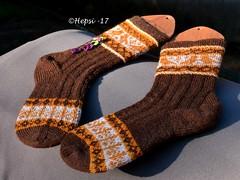 2017-08-04 Kanteletar (9) (hepsi2) Tags: tds2017 tds2017kanteletar kanteletar socks sukat colorwork strandedknitting